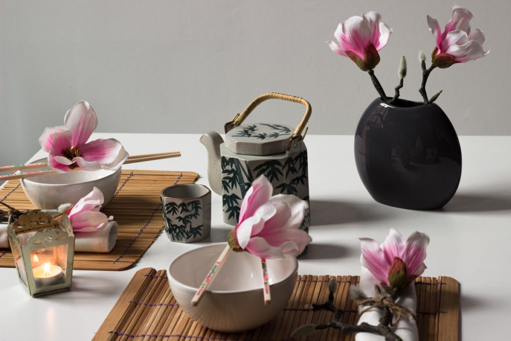 magnolie chinese tea time artfleur