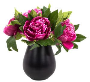 pfingstrose_päonie_pink_in vase_artfleur