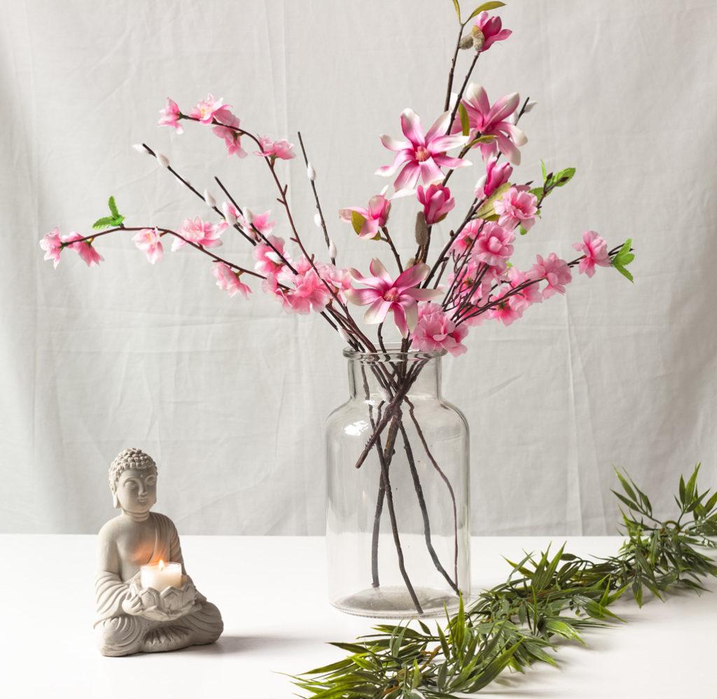 kirschblüte magnolie rosa artfleur