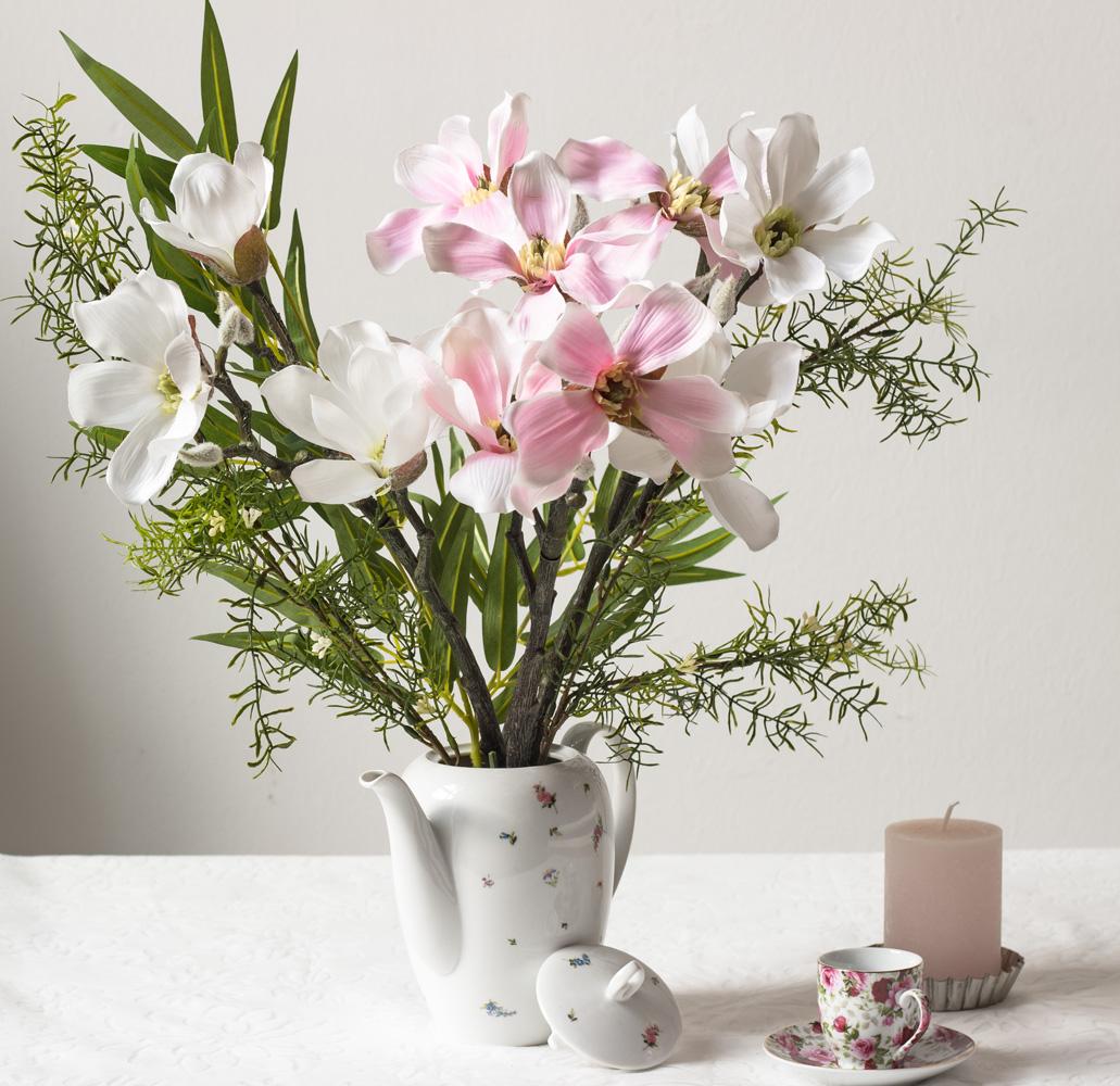 magnolie rosa weiss artfleur