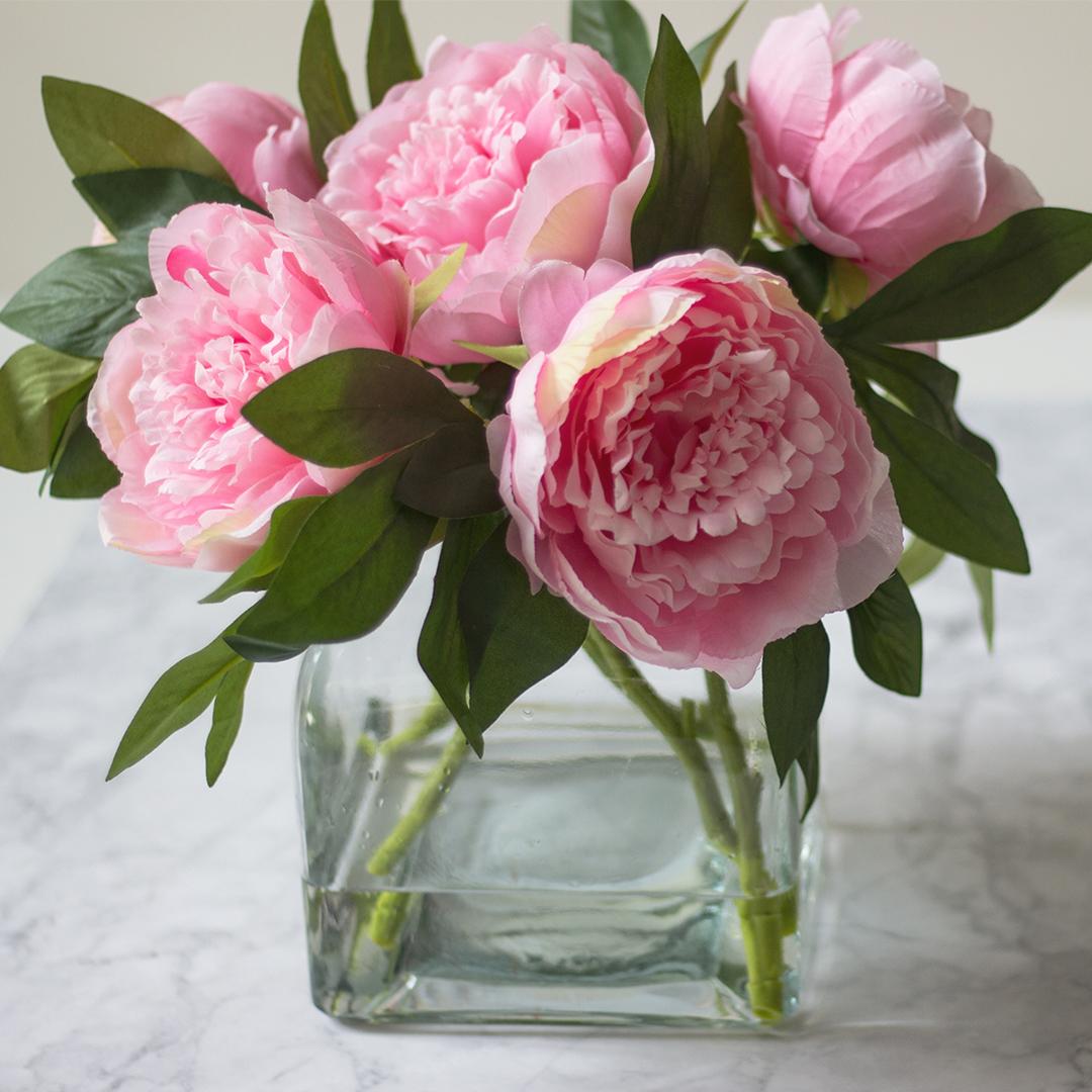 quadratisch-rosa-Paeonie-in-Vase